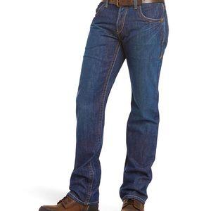 LIKE NEW Ariat men's 36x34 FR M5 Straight Leg Jean